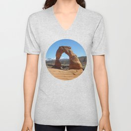 Moab Arches National Park Unisex V-Neck