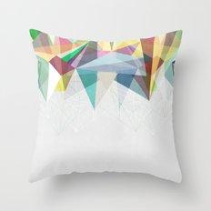 Colorflash 2 Throw Pillow