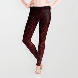 Funky Dark Red Leggings