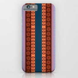 Ethnic Andean Peruvian Textile Pattern iPhone Case