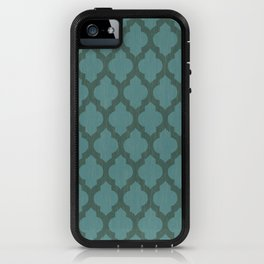 Turquiose Moroccan iPhone Case
