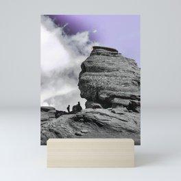 The Sphinx from Bucegi Mountains, Romania Mini Art Print