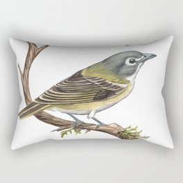 Blue-headed Vireo (Vireo solitarius) Rectangular Pillow