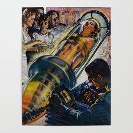 Vintage Sci-Fi (Science Fiction) Illustration Poster