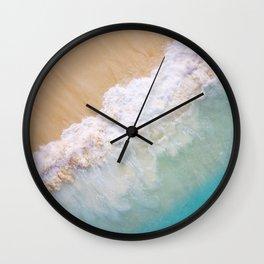 Dream Beach wave Wall Clock
