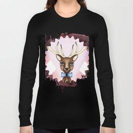 Pink Deer - Ciervo Rosa Long Sleeve T-shirt
