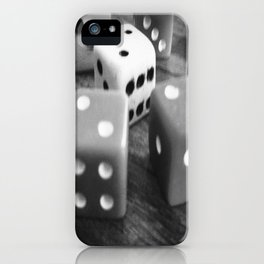 It's a game of chance... iPhone Case