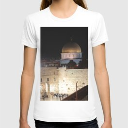 Jerusalem - The Western Wall - kotel T-shirt