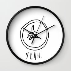 YEAH. Wall Clock