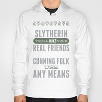 slytherin Hoodies featuring Slytherin by Dorothy Leigh