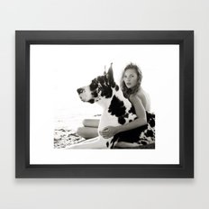 Herb Ritts Framed Art Print