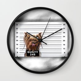 GUILTY! Wall Clock