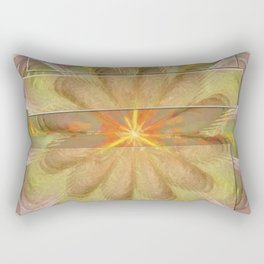 Sluffed Raw Flower  ID:16165-085108-61771 Rectangular Pillow