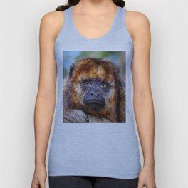 Monkey Portrait Unisex Tank Top