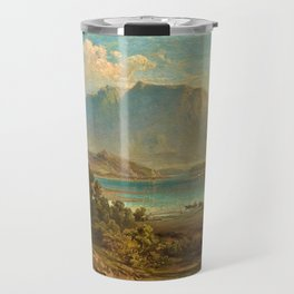 A view of Konigsee near Munich, Germany by Frederick Lee Bridell Travel Mug