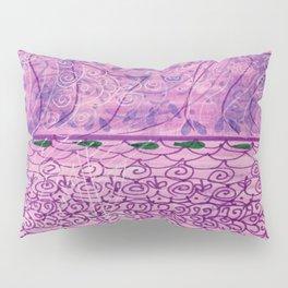Purple Doodle Pillow Sham