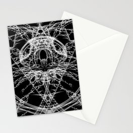 Daily Design 4 - Fractal Jaws Stationery Cards