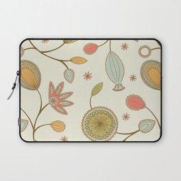 Mehndi Flower Laptop Sleeve