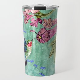 The Bittersweet Nectar of the Here and Now Travel Mug