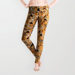 Monster March (Orange) Leggings