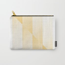 Gold Gradient Stripes Carry-All Pouch