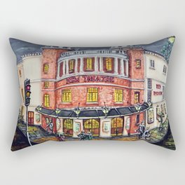 The New Theatre, Cardiff Rectangular Pillow