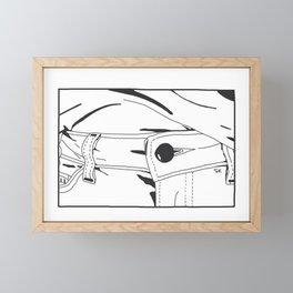 Unbuttoned Framed Mini Art Print