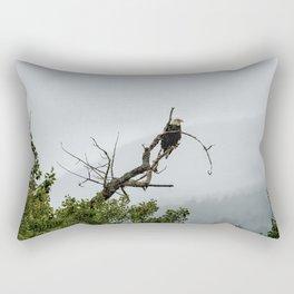 The Eagle's Throne Rectangular Pillow