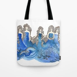 Salt Sisters Tote Bag
