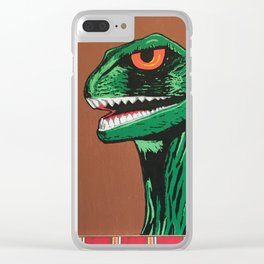 Tiki Monsters Of Mass Destruction Clear iPhone Case