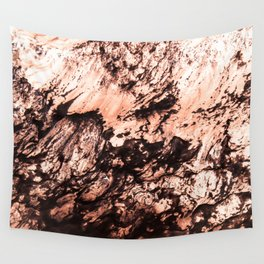 Copper Lava Wall Tapestry