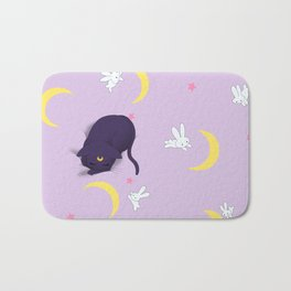 Sailor moon bed Bath Mat