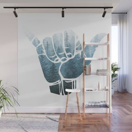 Misty Forest Hang Loose Wall Mural