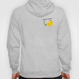 Humor and Funny: Guess What? Chicken Butt! Hoody
