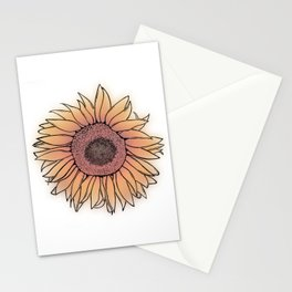 Mother Nature's Genius - Black Outline with colour Stationery Cards