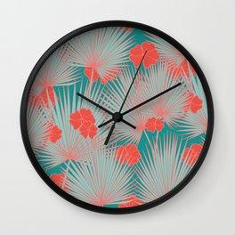 Sugar Lagoon Wall Clock
