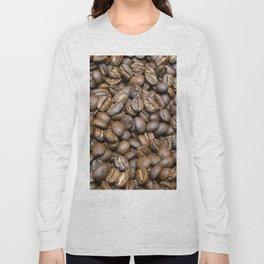Coffee Beans Long Sleeve T-shirt