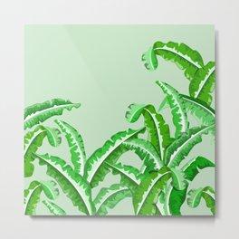 Silverbeat Vegetable pattern Metal Print