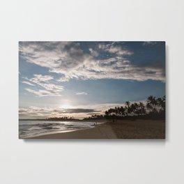 The magic of beaches | Sri Lanka sunset | Travel | Beach art print Metal Print