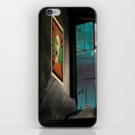 A very Haunted House iPhone Skin