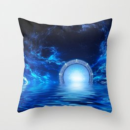 Gate of the Stars Throw Pillow