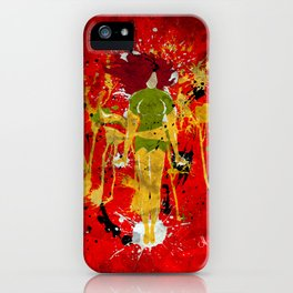 Splash of Phoenix iPhone Case