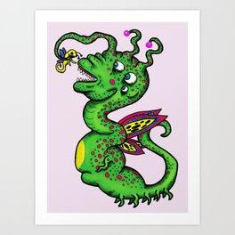 Dragon Monster Art Print