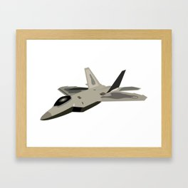 F-22 Raptor Framed Art Print