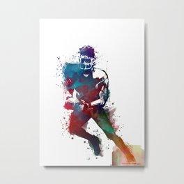 American football player 1 #sport #football Metal Print