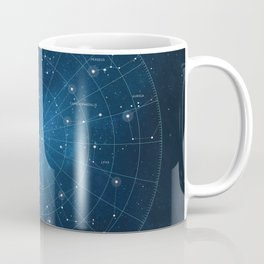 Constellation Star Chart Coffee Mug