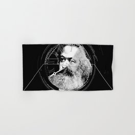 The Time of Marx Dark Hand & Bath Towel