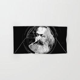 The Time of Marx Dark Hand & Bath Towel