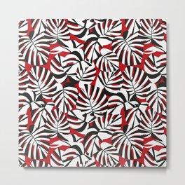 PLANT / pattern pattern Metal Print