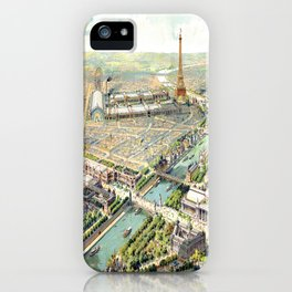Paris World Fair 1900 iPhone Case